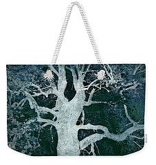 Old Blue Tree Weekender Tote Bag