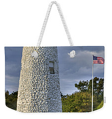Old Buckroe Lighthouse Weekender Tote Bag