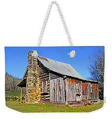 Old Cabin Along Macedonia Church Road Weekender Tote Bag