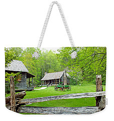 Old Cabins At The Cradle Of Forestry Weekender Tote Bag