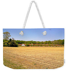 Weekender Tote Bag featuring the photograph Old Chicken Houses by Amazing Photographs AKA Christian Wilson