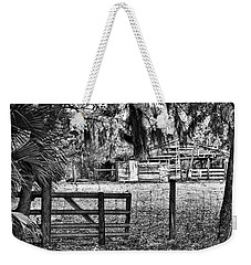 Old Chisolm Island Barn Weekender Tote Bag