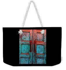 Old Church Door Handles 1 Weekender Tote Bag