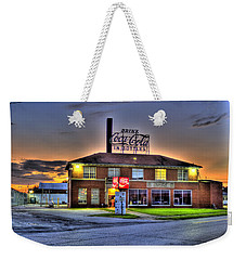 Old Coca Cola Bottling Plant Weekender Tote Bag by Jonny D