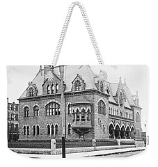 Old Customs House And Post Office Evansville Indiana 1915 Weekender Tote Bag