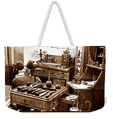 Weekender Tote Bag featuring the photograph Old Dentistry by Julie Palencia