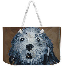 Old Dogs Are The Best Dogs Weekender Tote Bag