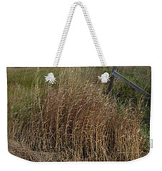 Old Fence Line Weekender Tote Bag