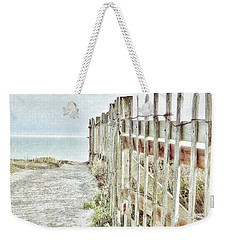 Old Fence To The Sea  Weekender Tote Bag