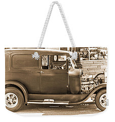 Old Ford Weekender Tote Bag by Cathy Anderson
