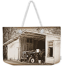 Weekender Tote Bag featuring the photograph Old Ford by Faith Williams