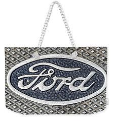 Old Ford Symbol Weekender Tote Bag