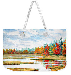 Old Forge Autumn Weekender Tote Bag