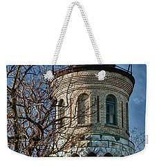 Weekender Tote Bag featuring the photograph Old Fort Niagara Lighthouse 4484 by Guy Whiteley