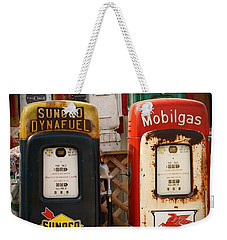 Old Fuel Pumps Weekender Tote Bag