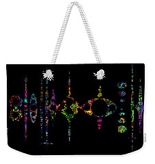Weekender Tote Bag featuring the photograph Old Ghostville Reflection by Mark Blauhoefer