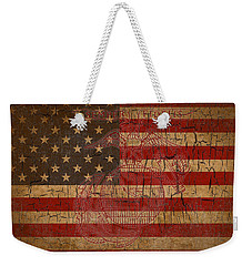Old Glory And The Marine Corps Weekender Tote Bag