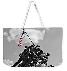Old Glory At Iwo Jima Weekender Tote Bag