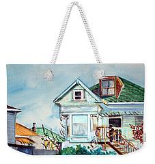 Old House In Springtime Berkeley Weekender Tote Bag