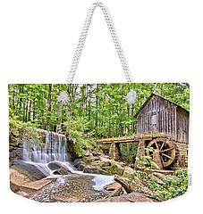 Old Lefler Grist Mill Weekender Tote Bag by Gordon Elwell