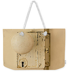 Old Lock Weekender Tote Bag by Photographic Arts And Design Studio