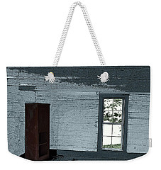 Old Log House Interior Weekender Tote Bag