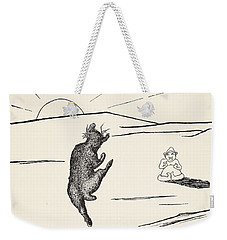 Old Man Kangaroo Weekender Tote Bag by Rudyard Kipling