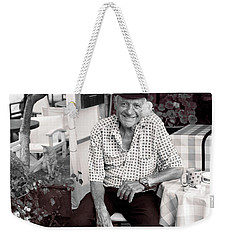 Old Man Of Old Town Weekender Tote Bag