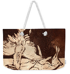 Old Masters Still Life - With Great Bittern Duck Rabbit - Nature Morte - Natura Morta - Still Life Weekender Tote Bag