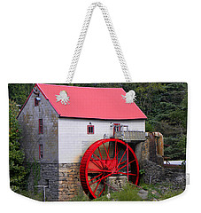 Weekender Tote Bag featuring the photograph Old Mill Of Guilford by Sandi OReilly