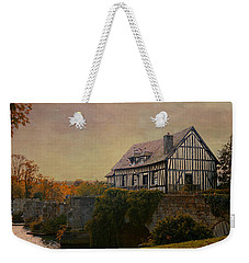 Old Mill On The Broken Bridge At Vernon Weekender Tote Bag