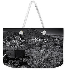 Weekender Tote Bag featuring the photograph Old Mining Town No.23 by Mark Myhaver