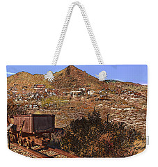 Old Mining Town No.24 Weekender Tote Bag