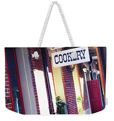 Weekender Tote Bag featuring the photograph Old Nawlins by Erika Weber