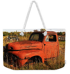 Old Orange Weekender Tote Bag