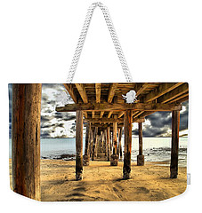 Old Pillar Point Pier Weekender Tote Bag