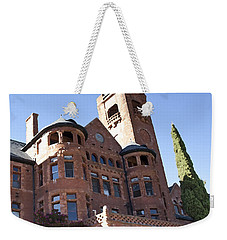 Weekender Tote Bag featuring the photograph Old Preston Castle by David Millenheft