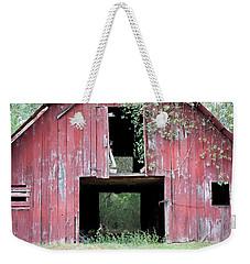 Old Red Barn I Weekender Tote Bag