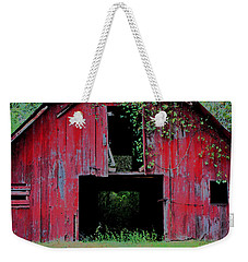 Old Red Barn IIi Weekender Tote Bag by Lanita Williams