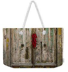 Old Ristra Door Weekender Tote Bag