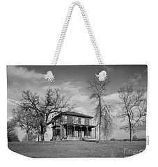 Old Rustic House On A Hill Weekender Tote Bag