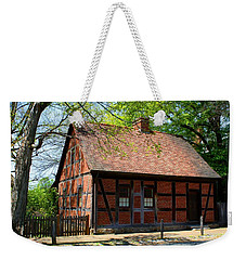 Old Salem Scene 3 Weekender Tote Bag by Kathryn Meyer