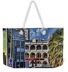 Weekender Tote Bag featuring the photograph Old San Juan Cityscape by Daniel Sheldon