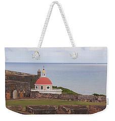 Weekender Tote Bag featuring the photograph Old San Juan by Daniel Sheldon