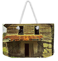 Weekender Tote Bag featuring the photograph Old Seabrook House by Patricia Greer