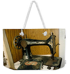 Old Sewing Machine Weekender Tote Bag