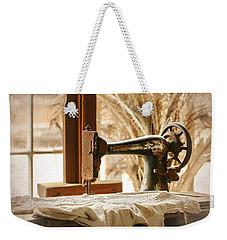 Old Sewing Machine Weekender Tote Bag