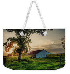 Weekender Tote Bag featuring the photograph Old Shed by Savannah Gibbs