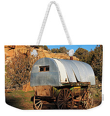 Old Sheepherder's Wagon Weekender Tote Bag