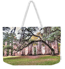 Old Sheldon Church - Bending Oak Weekender Tote Bag
